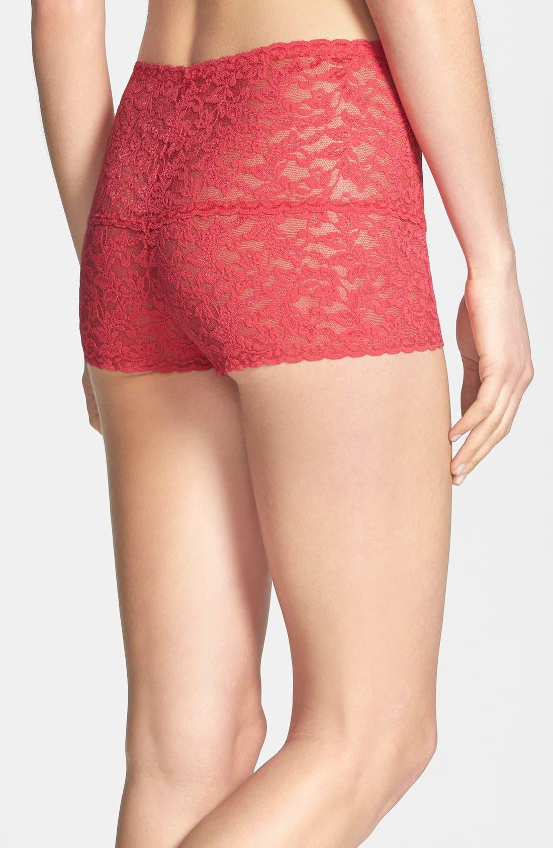 Alternate Image 2  - Hanky Panky Retro Lace Hotpants