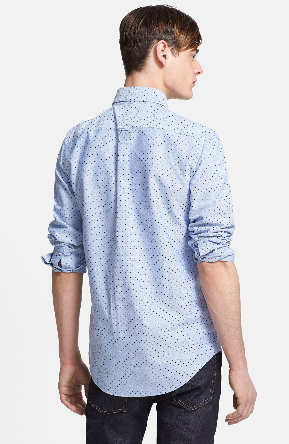 Alternate Image 2  - Jack Spade 'Taylor' Dot Woven Oxford Sport Shirt