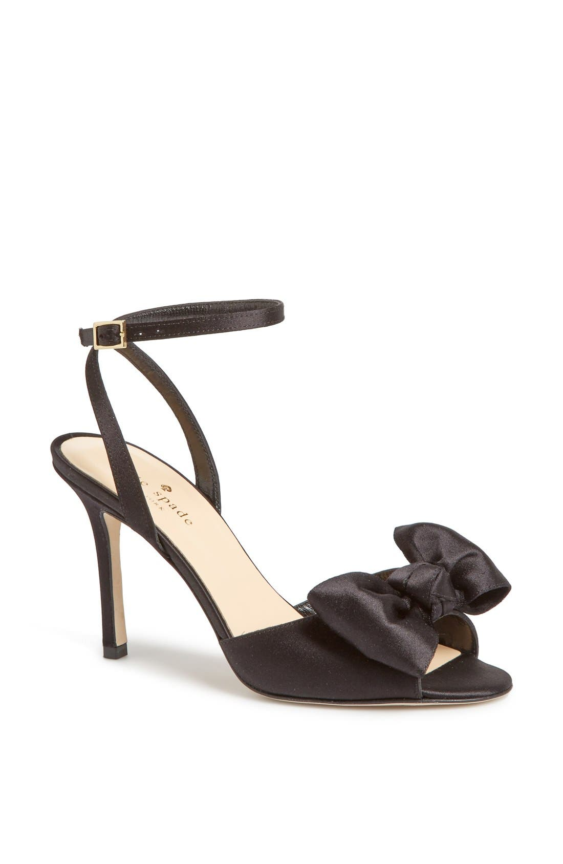 Alternate Image 1 Selected - kate spade new york 'ilexa' satin sandal