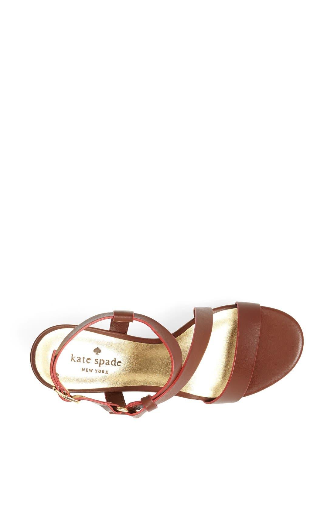 Alternate Image 3  - kate spade new york 'viex' wedge sandal