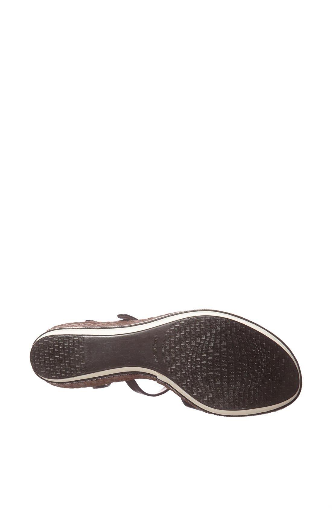 Alternate Image 4  - Stuart Weitzman 'Rex' Wedge Sandal