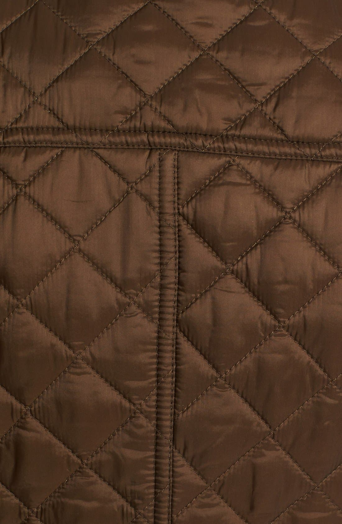 Alternate Image 3  - Burberry Brit 'Oakcliffe' Quilted Moto Jacket