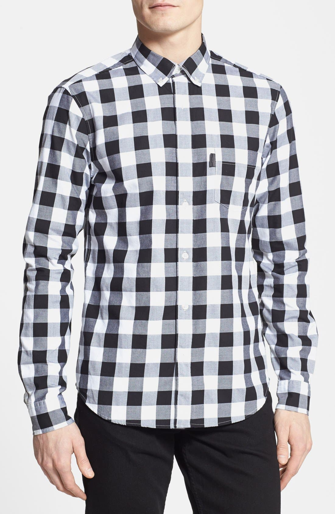 Alternate Image 1 Selected - Burberry Brit 'Fred' Gingham Sport Shirt