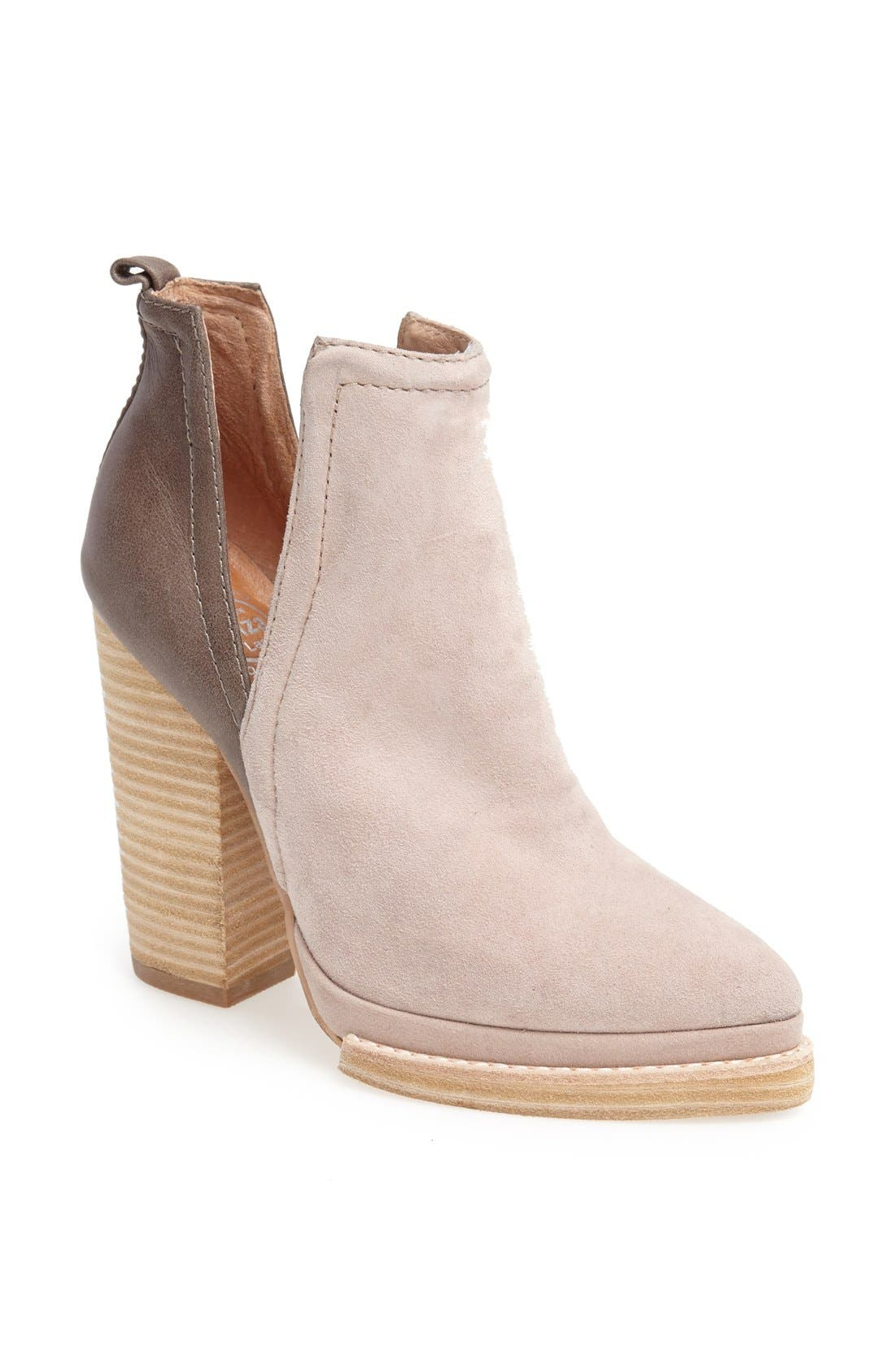 Alternate Image 1 Selected - Jeffrey Campbell 'Who's Next' Leather Bootie