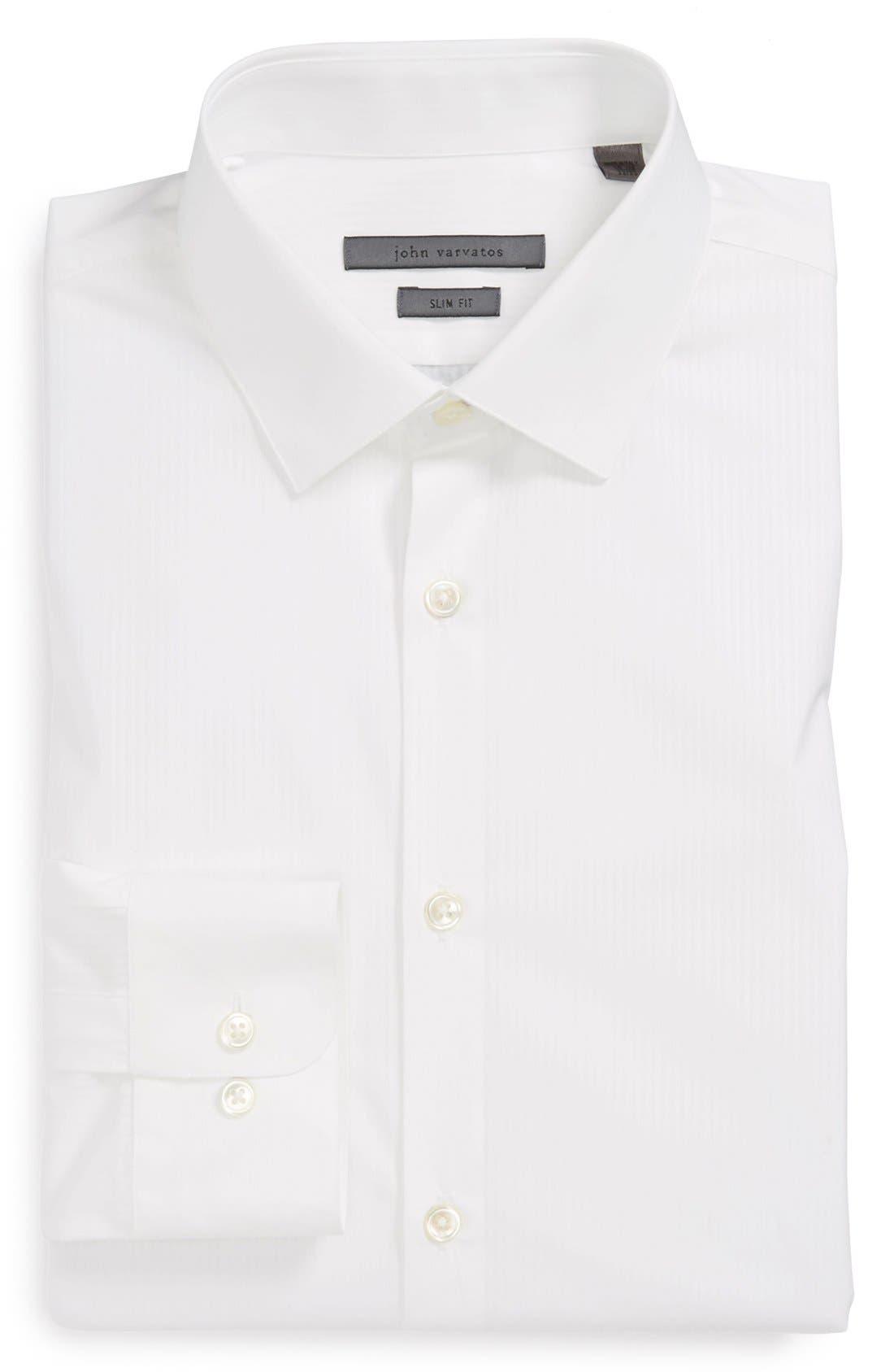 Alternate Image 1 Selected - John Varvatos Collection Slim Fit Dress Shirt
