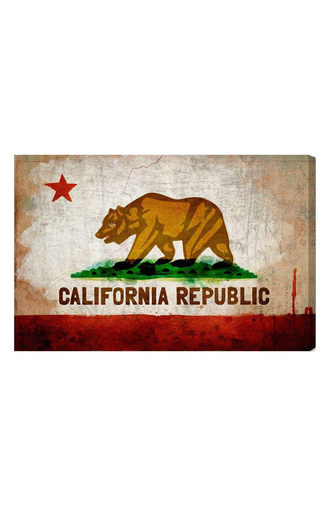 Alternate Image 1 Selected - Oliver Gal 'California Republic' Wall Art