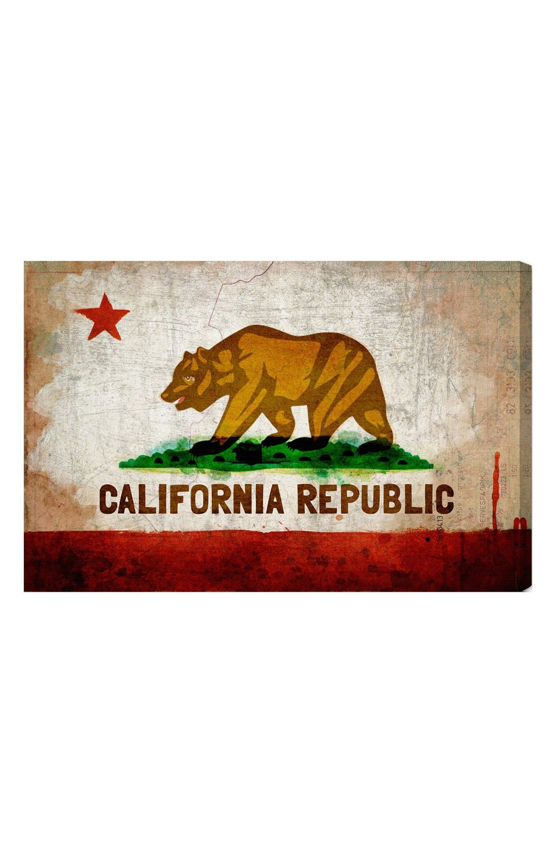 Oliver Gal 'California Republic' Wall Art