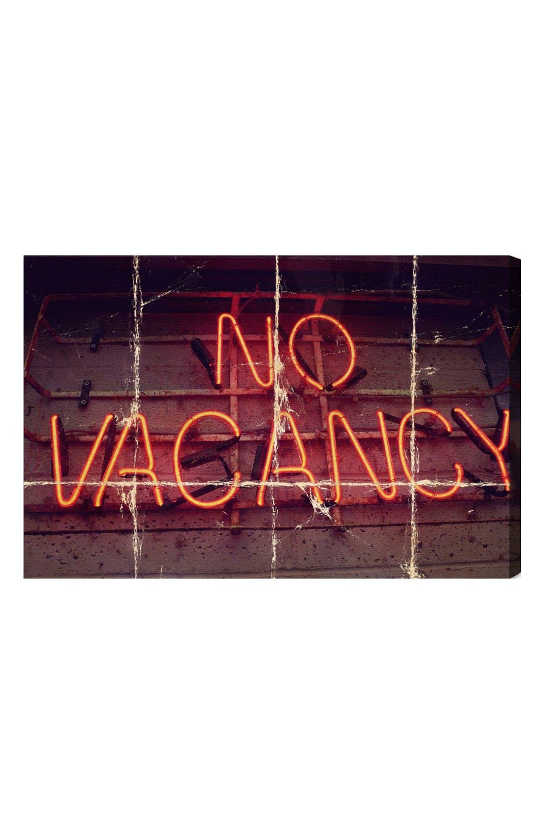 Main Image - Oliver Gal 'No Vacancy' Wall Art