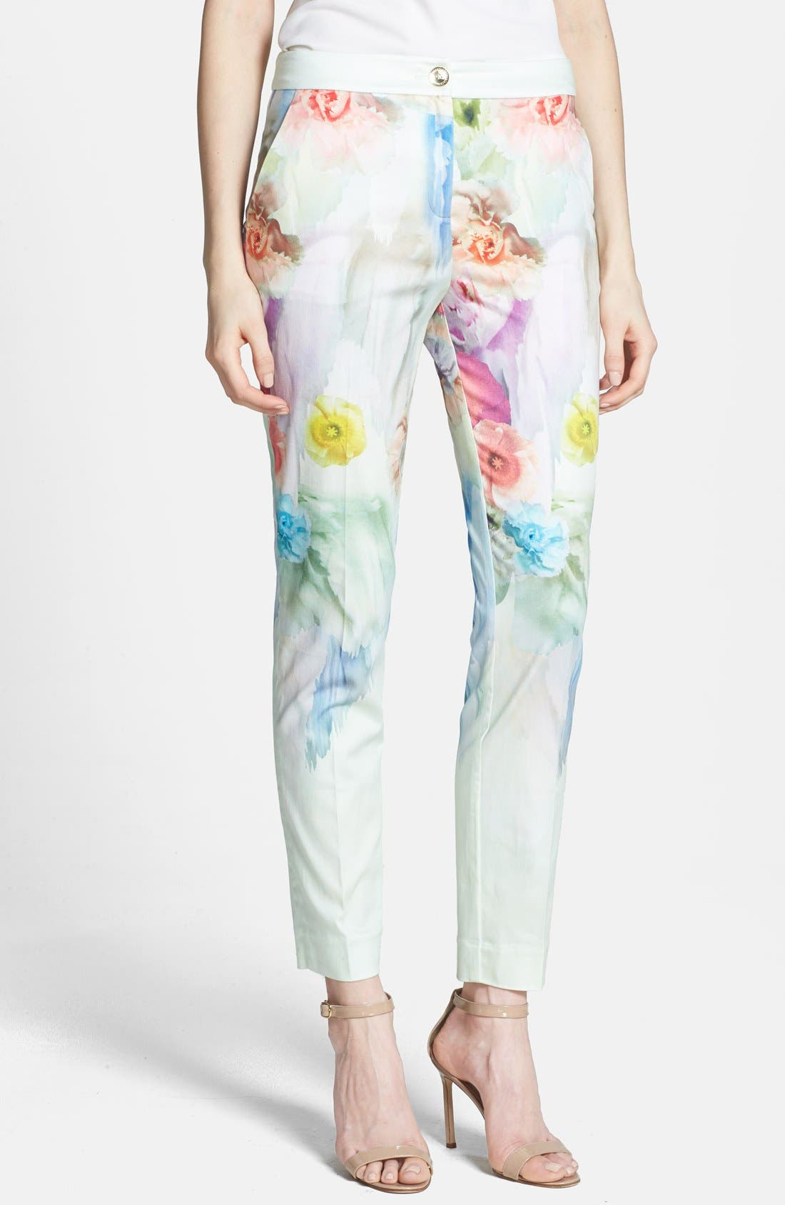 Main Image - Ted Baker London 'Avalyn - Sugar Sweet' Floral Print Trousers