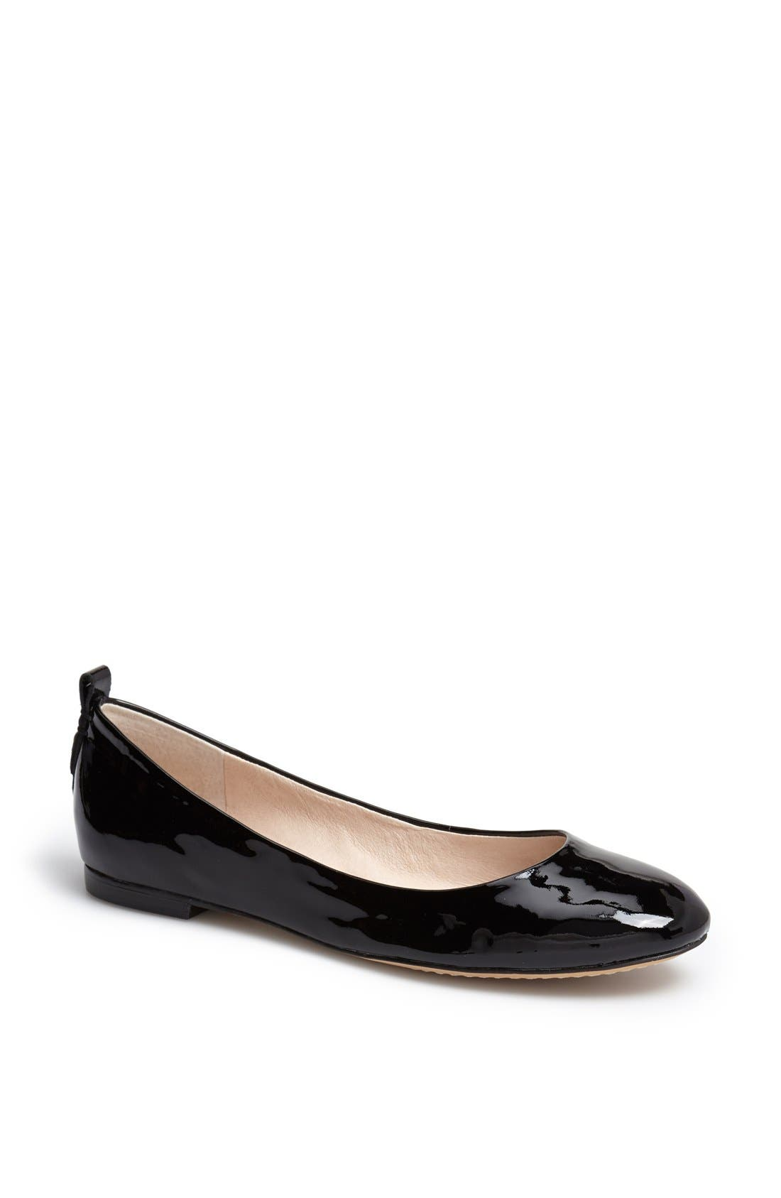 Alternate Image 1 Selected - Vince Camuto 'Benningly' Patent Leather Ballet Flat
