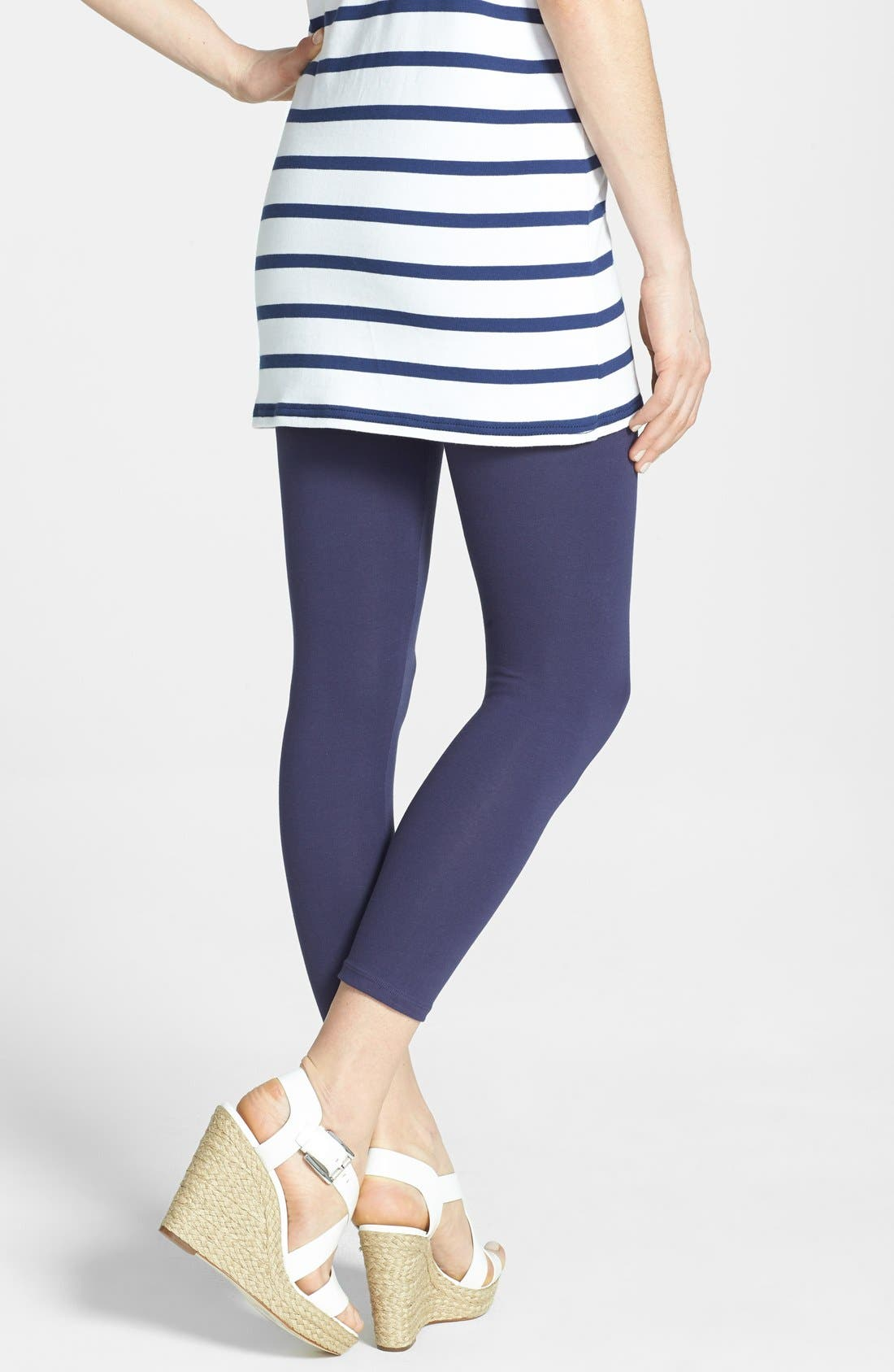 Alternate Image 2  - Yummie by Heather Thomson 'Nora' Control Top Skimmer Leggings (Online Only)