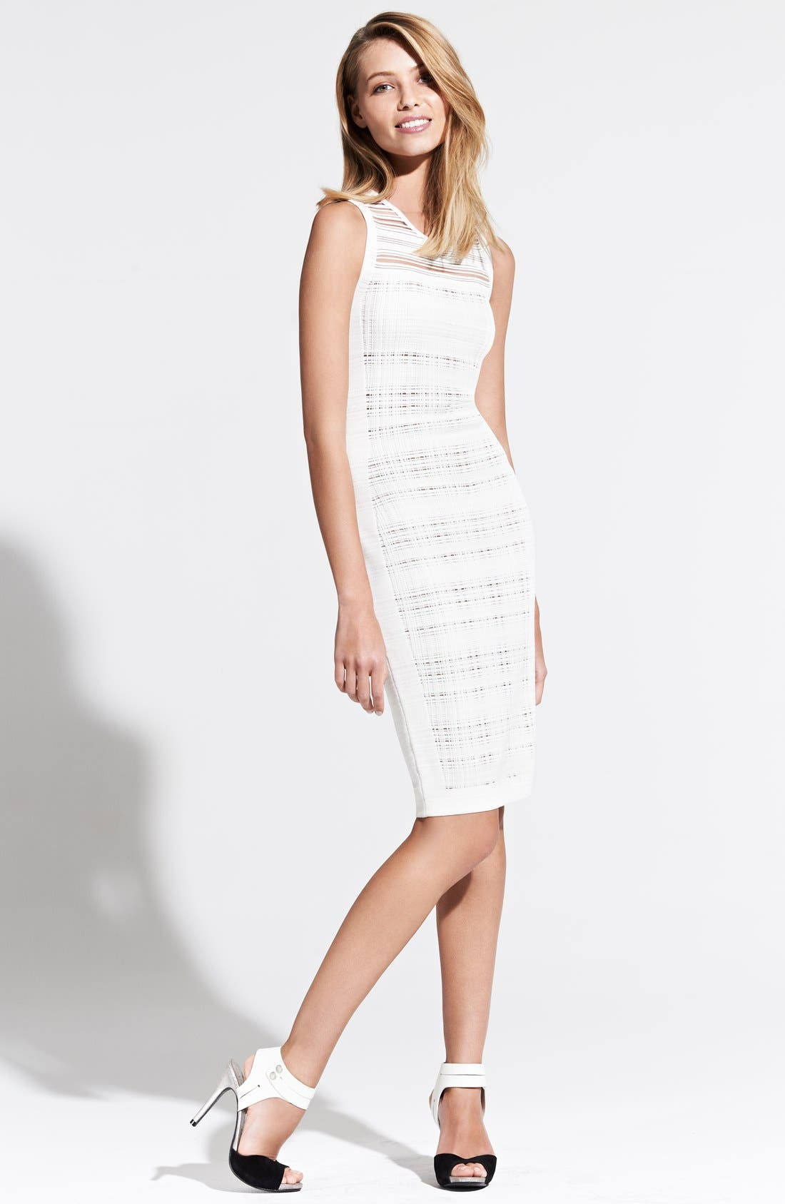 Alternate Image 4  - Narciso Rodriguez Illusion Sheath Dress