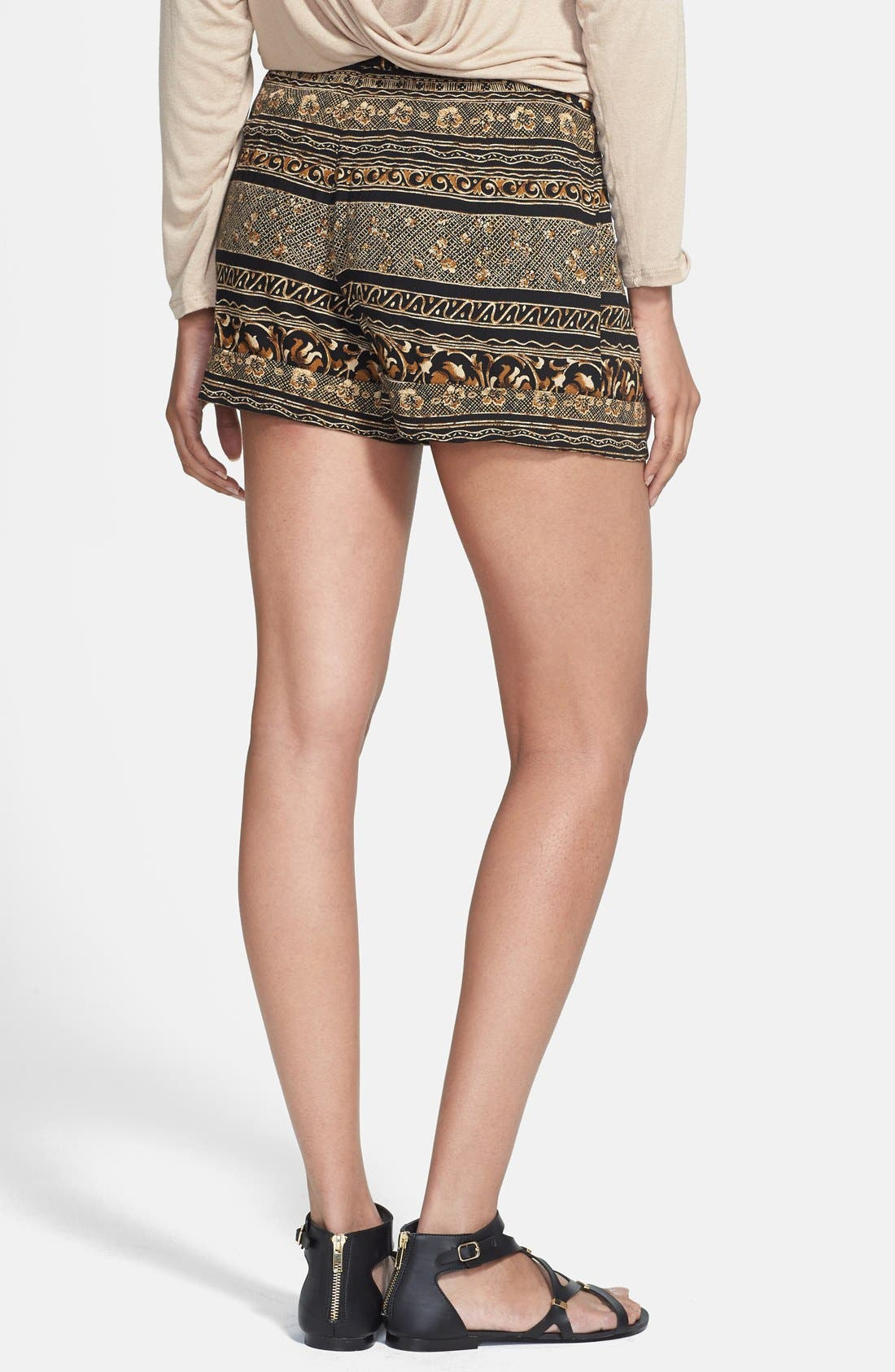 Alternate Image 2  - Nikki Rich Print Shorts