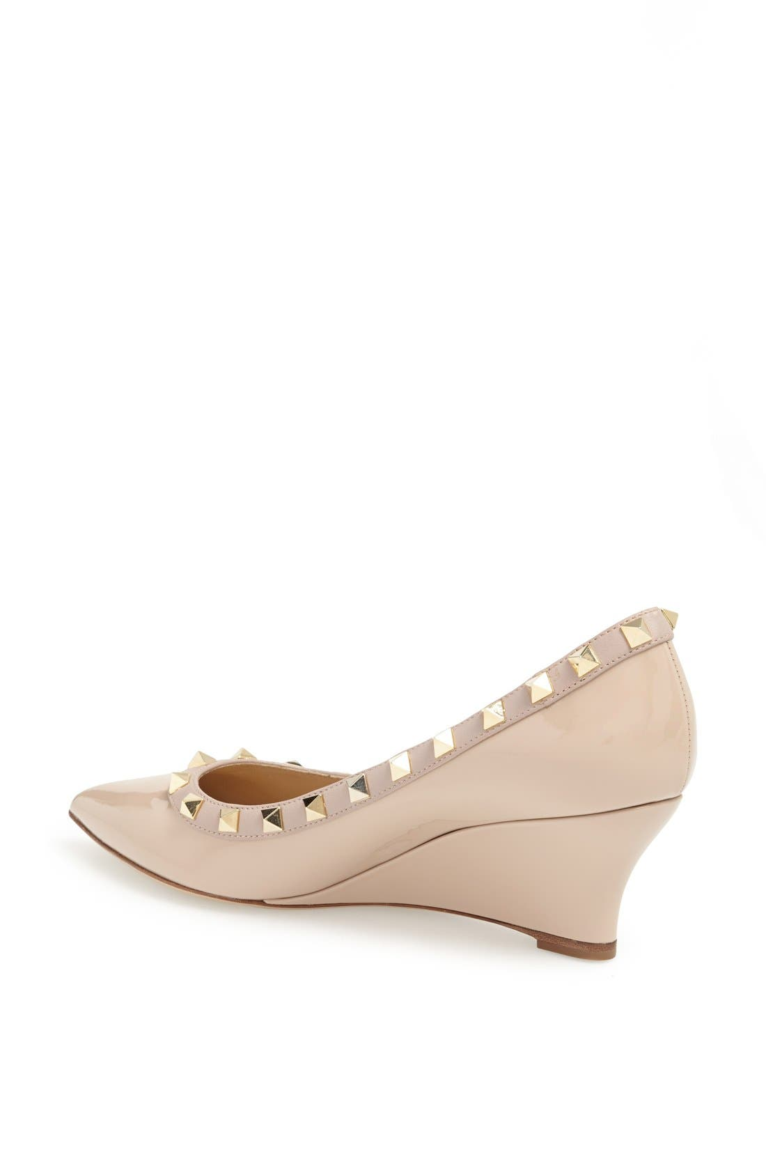 Alternate Image 2  - Valentino 'Rockstud' Wedge