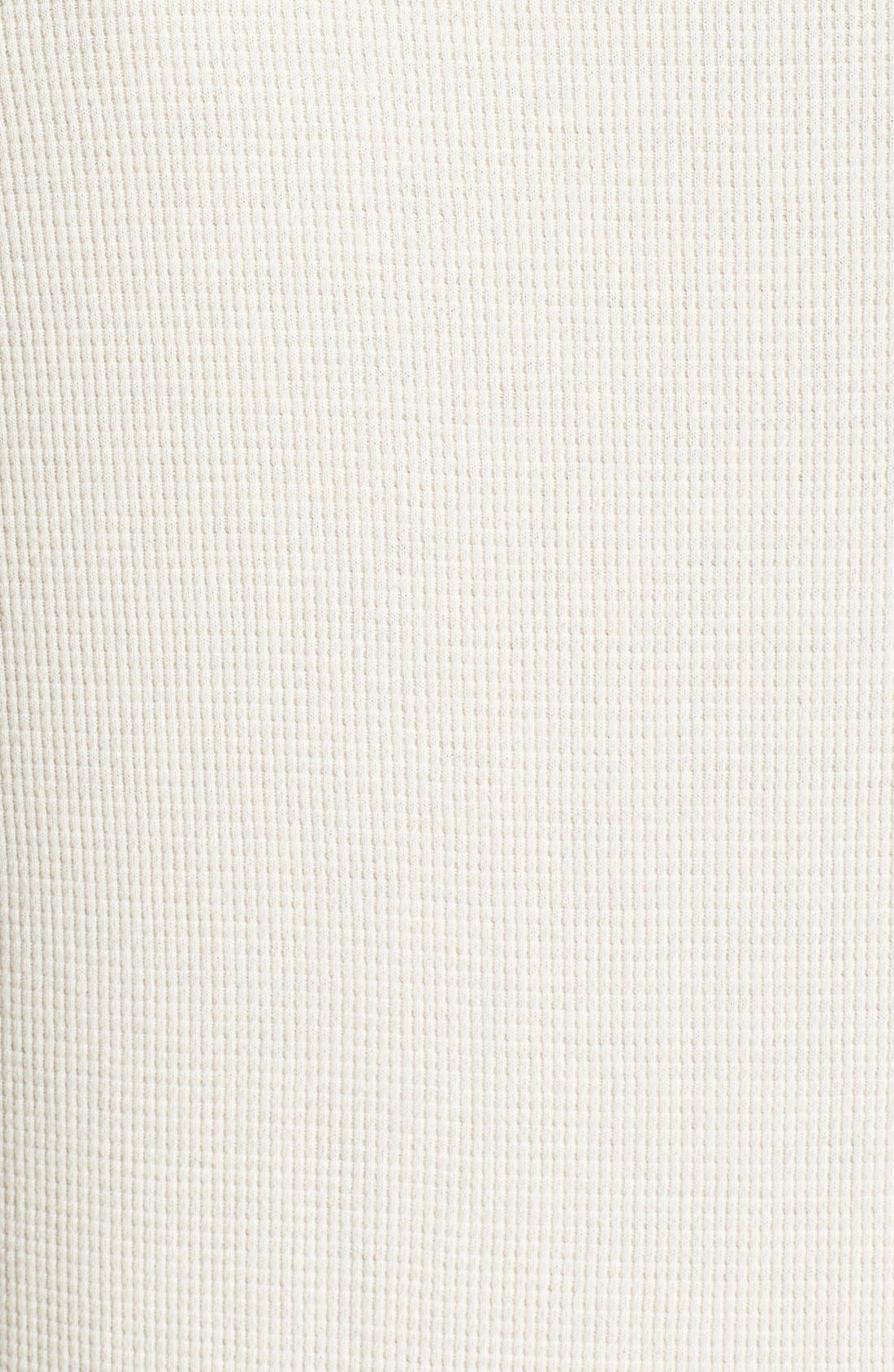 Alternate Image 3  - Polo Ralph Lauren Waffle Knit Lounge Shirt