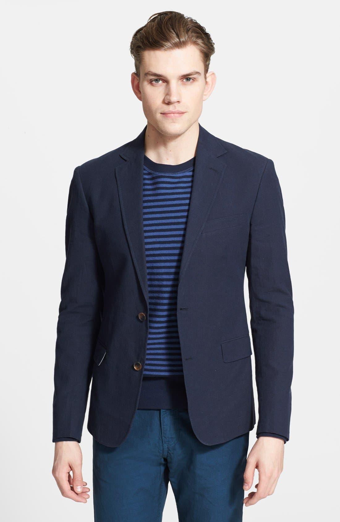 Alternate Image 1 Selected - Billy Reid 'Lexington' Cotton & Linen Sportcoat