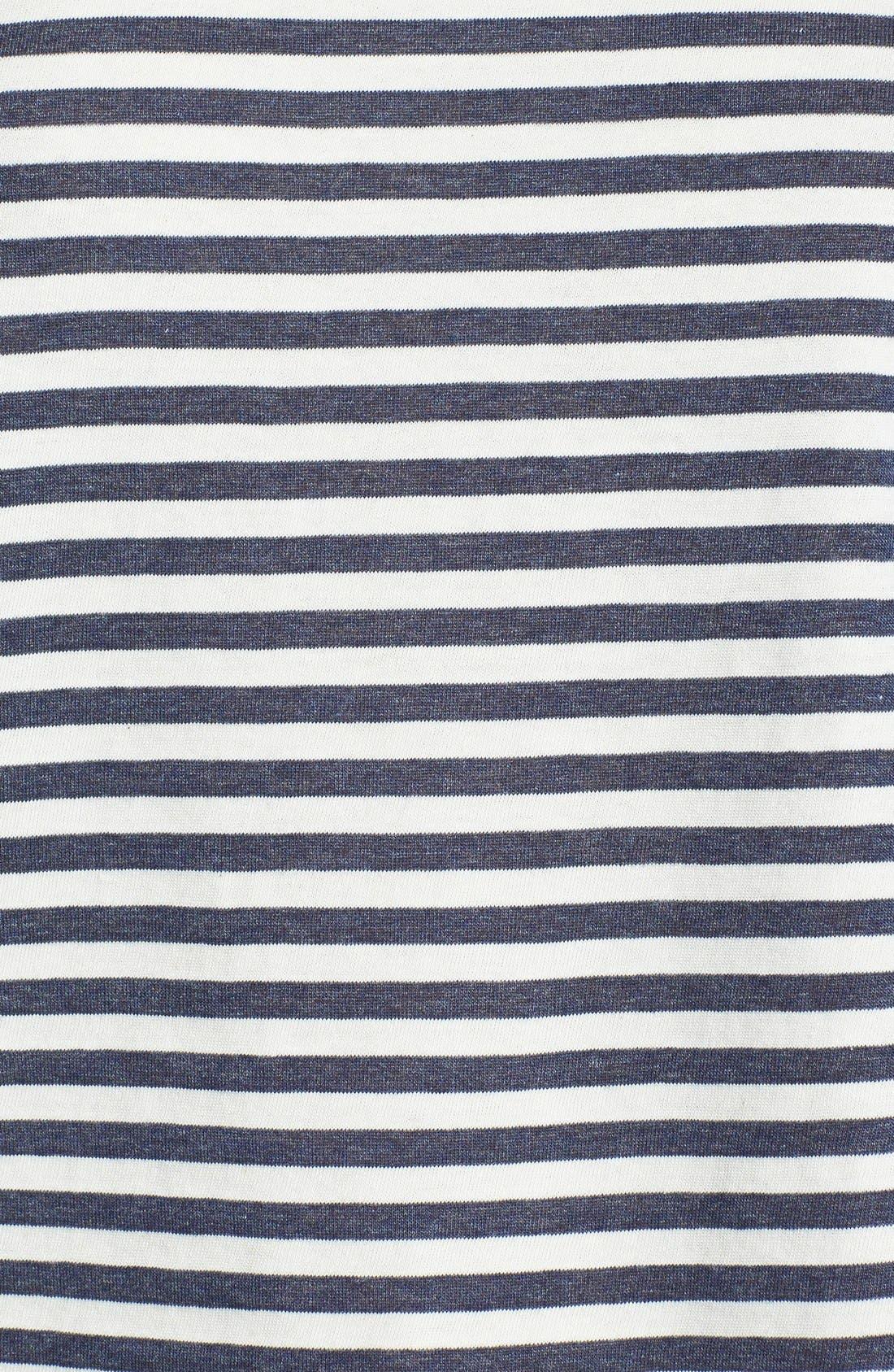 Alternate Image 3  - Harlowe and Graham Contrast Yoke Stripe Top