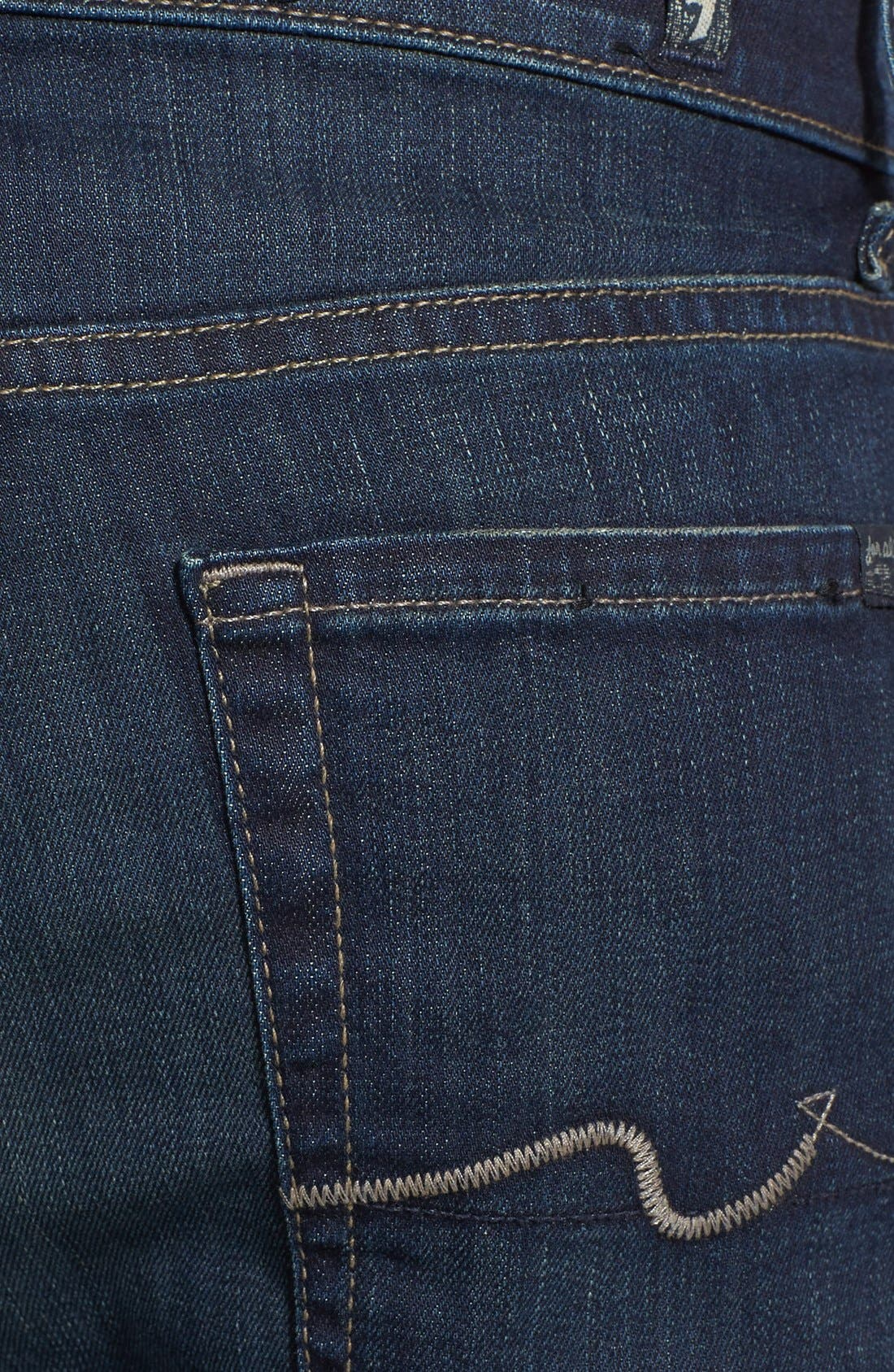 Alternate Image 4  - 7 For All Mankind® 'Austyn - Luxe Performance' Relaxed Straight Leg Jeans (Angeleno Hills)