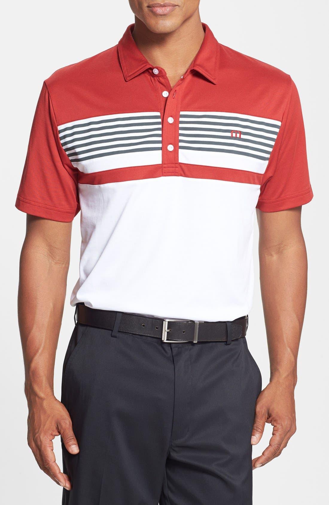 Main Image - Travis Mathew 'Kurkova' Trim Fit Performance Golf Polo