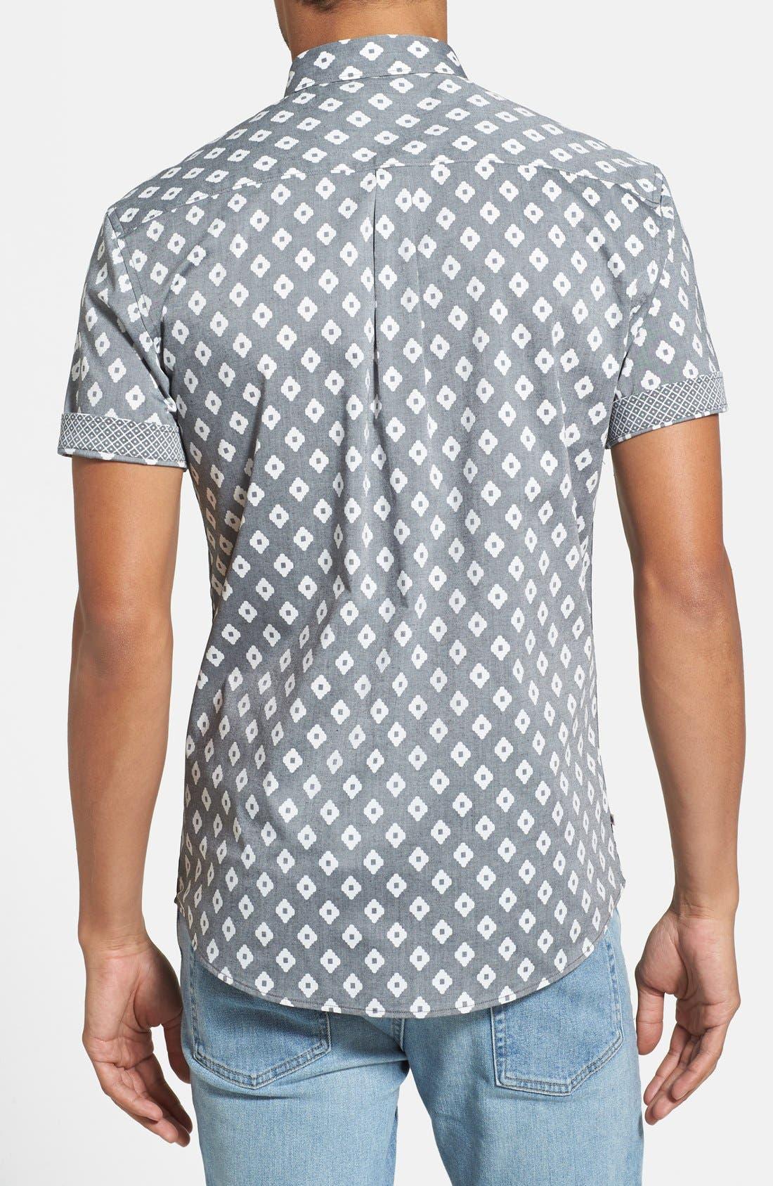 Alternate Image 2  - 7 Diamonds 'Radio Clash' Short Sleeve Sport Shirt