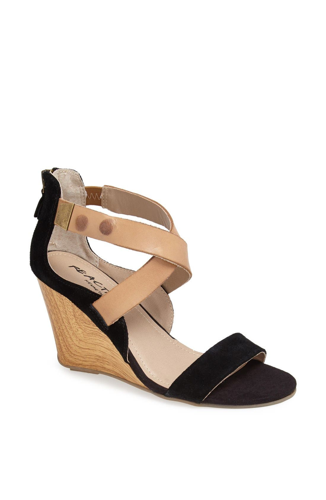 Alternate Image 1 Selected - Kenneth Cole Reaction 'Oh Ava' Wedge Sandal