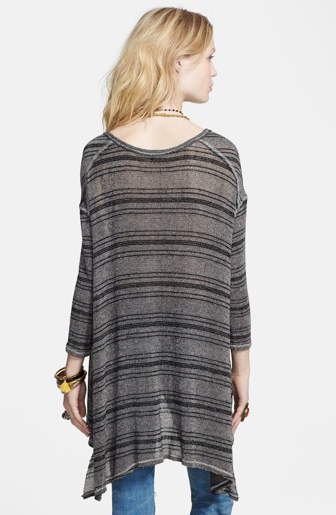 Alternate Image 2  - Free People Stripe Knit Pullover