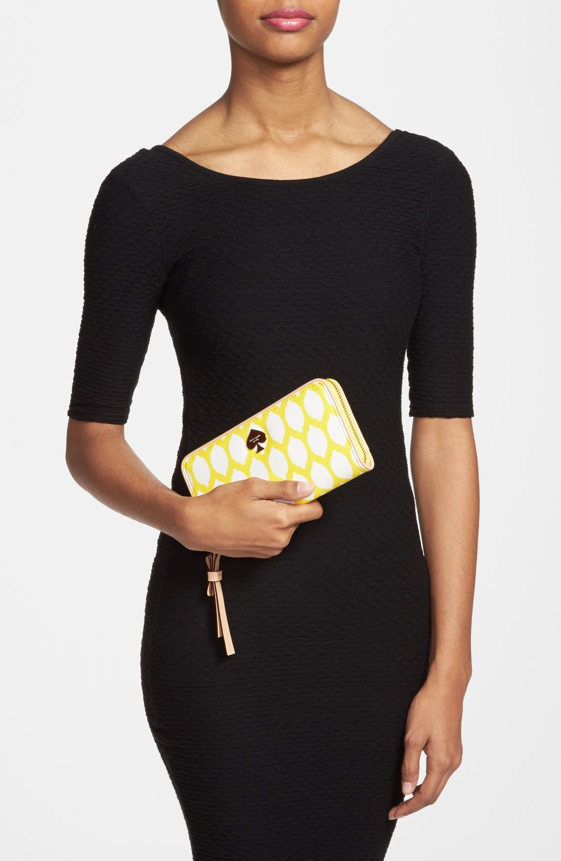 Alternate Image 4  - kate spade new york 'cobblestone park - lacey' wallet wristlet