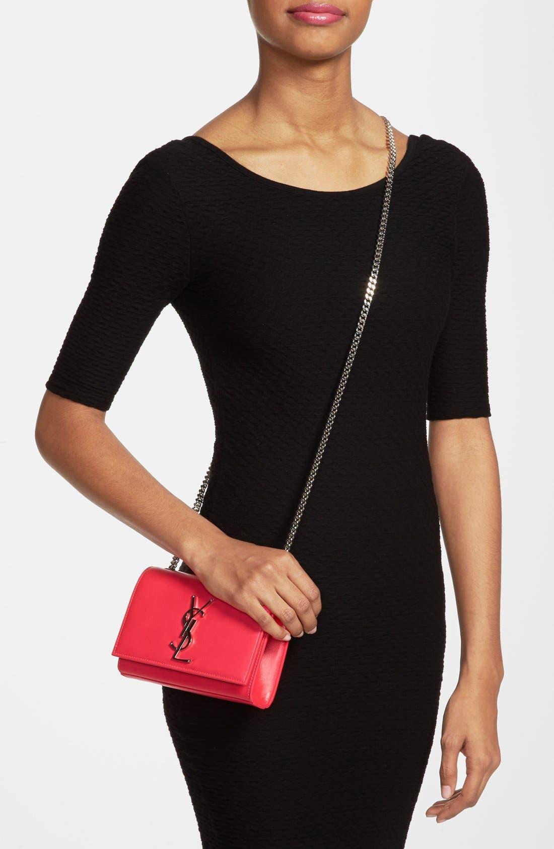 Alternate Image 2  - Saint Laurent 'Cassandre - Mini' Crossbody Bag