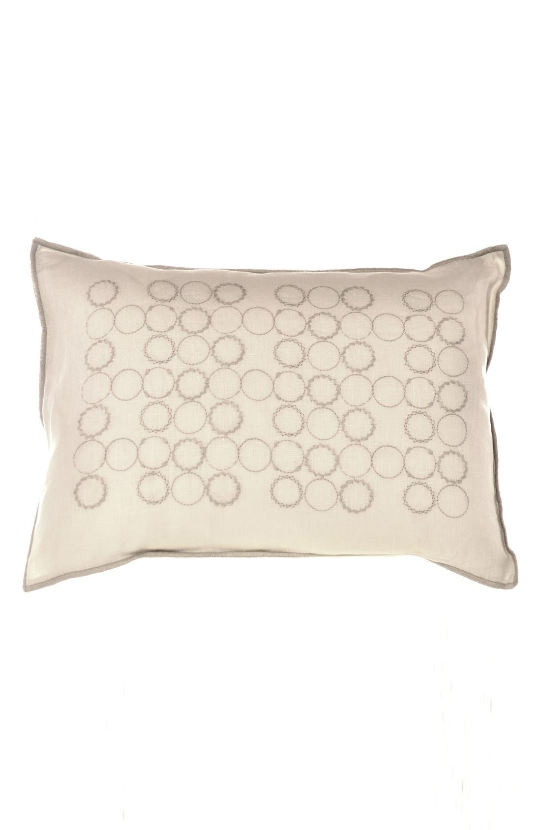 Main Image - Vera Wang Circle Embroidered Pillow