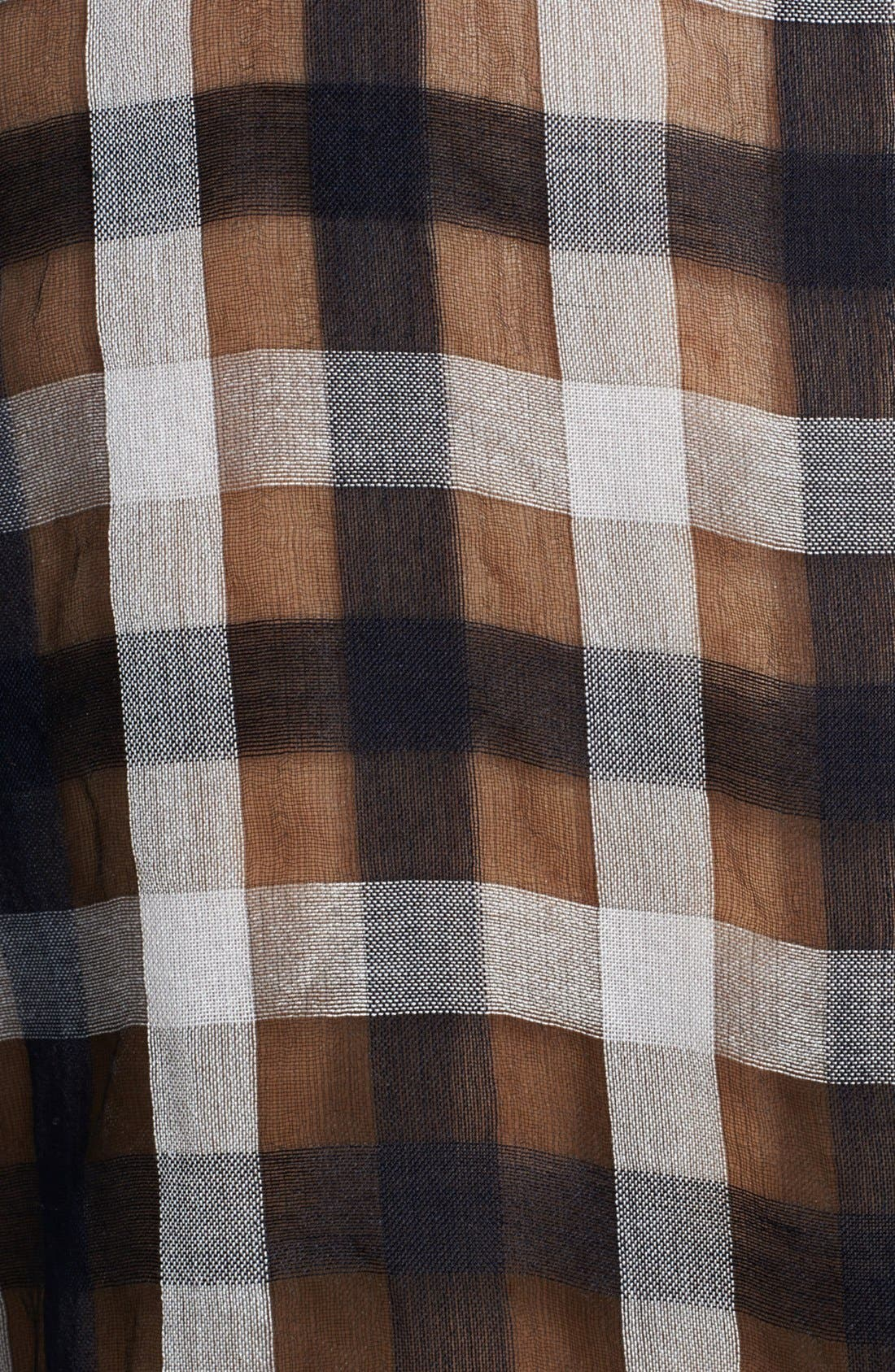 Alternate Image 3  - A.L.C. 'Kelly' Sleeveless Sheer Plaid Blouse