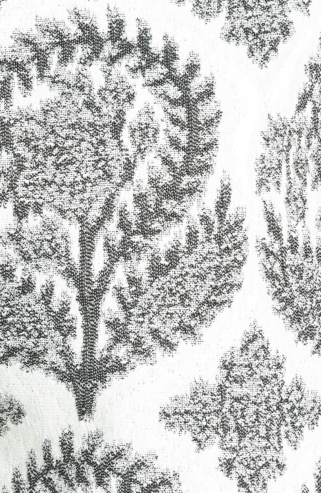 Alternate Image 3  - Diane von Furstenberg 'Naples' Floral Jacquard Shorts