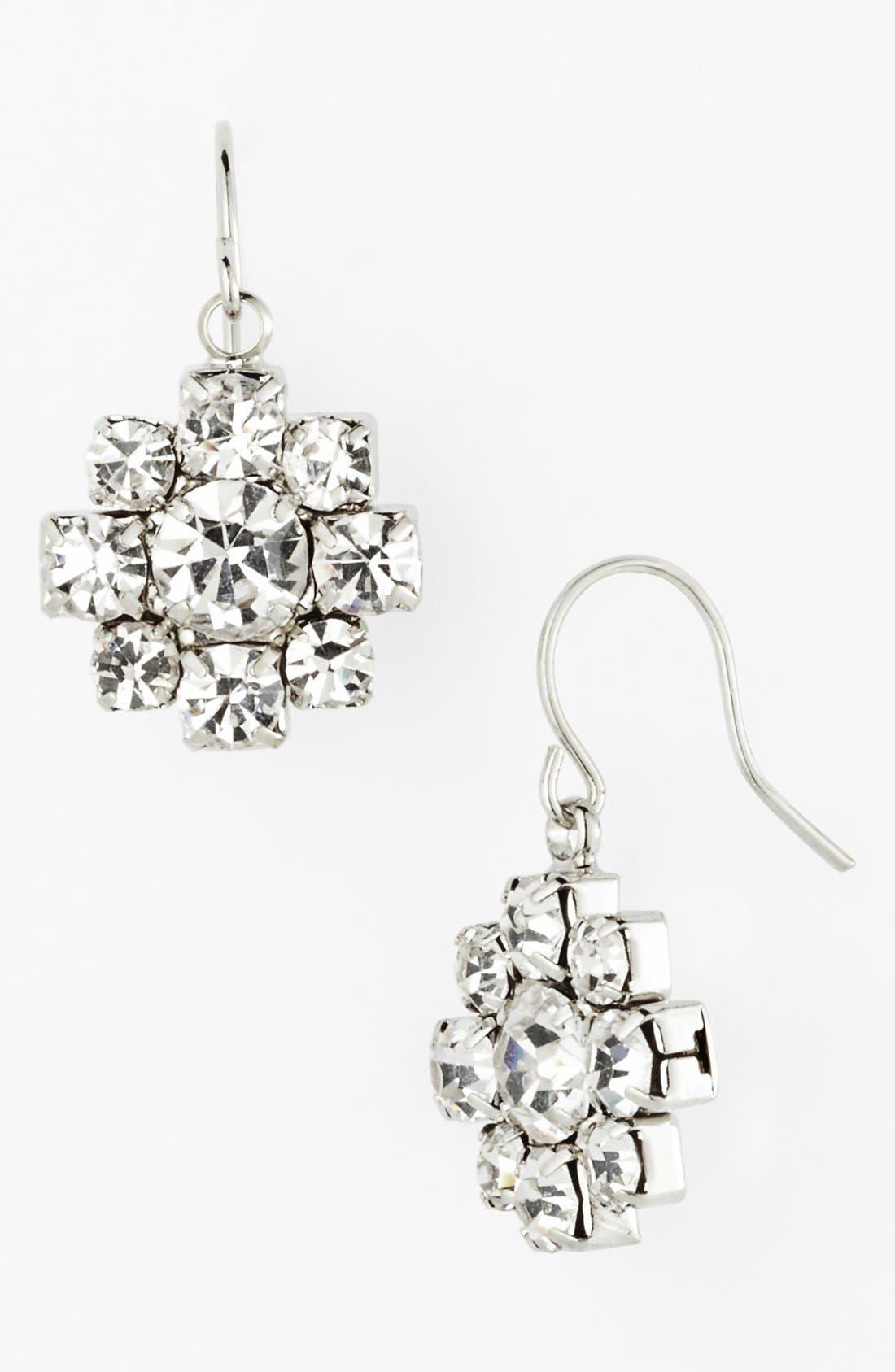 Alternate Image 1 Selected - Nordstrom 'Occasion' Crystal Drop Earrings
