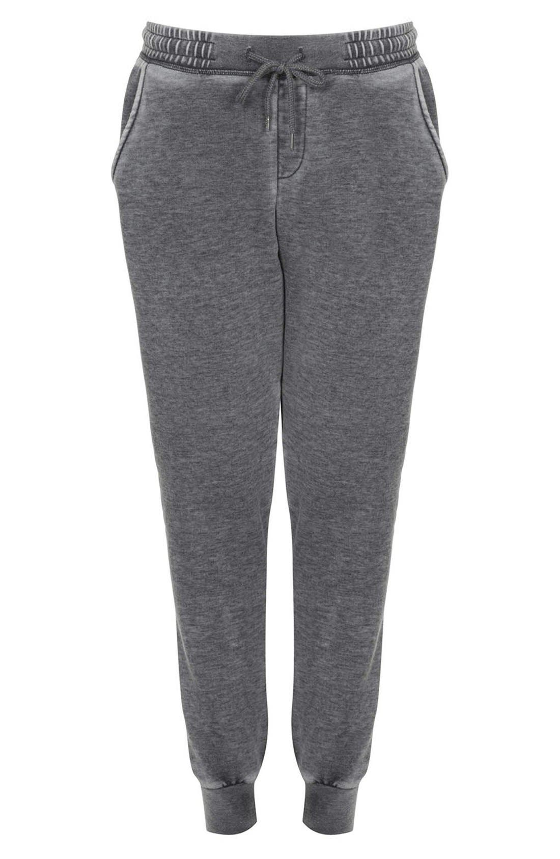 Alternate Image 3  - Topshop Faded Cotton Blend Track Pants