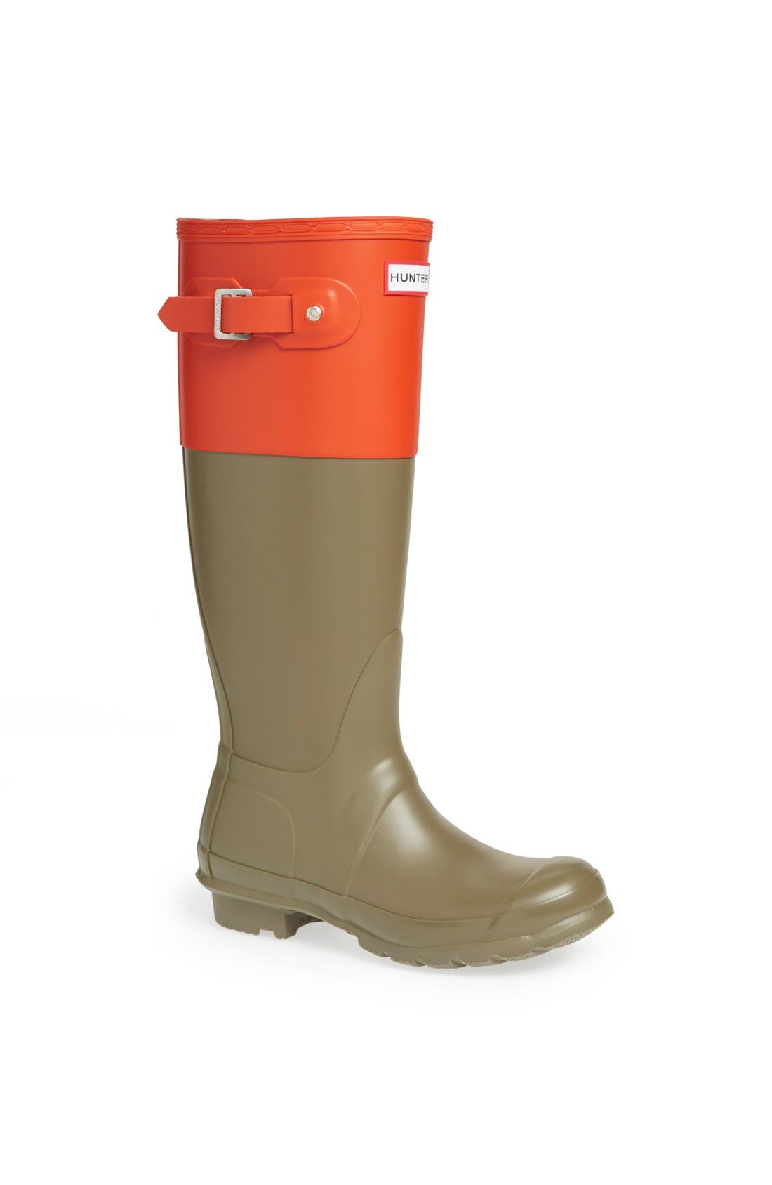 Main Image - Hunter 'Original Colorblock' Rain Boot (Women)