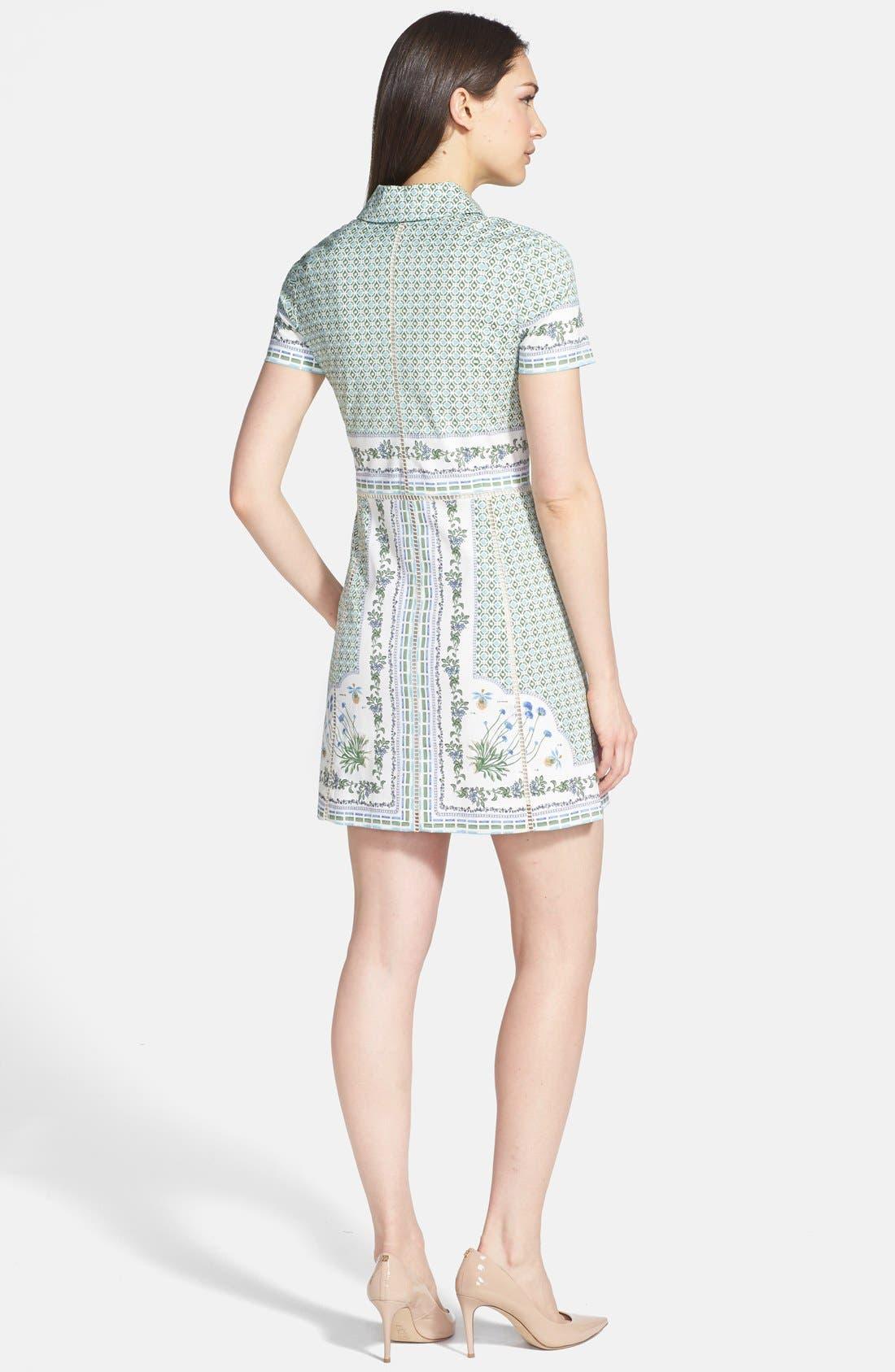 Alternate Image 2  - Tory Burch 'Talia' Poplin Shirtdress