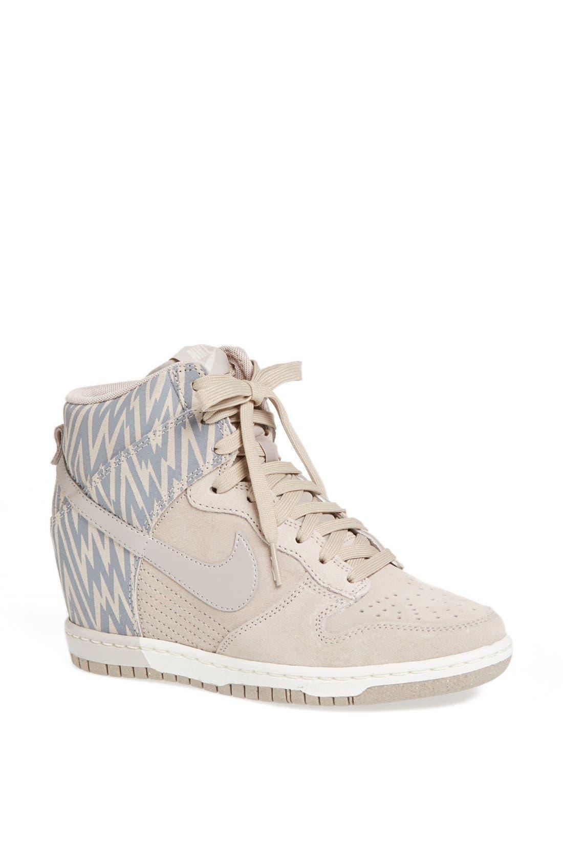 Main Image - Nike 'Dunk Sky Hi' Wedge Sneaker (Women)
