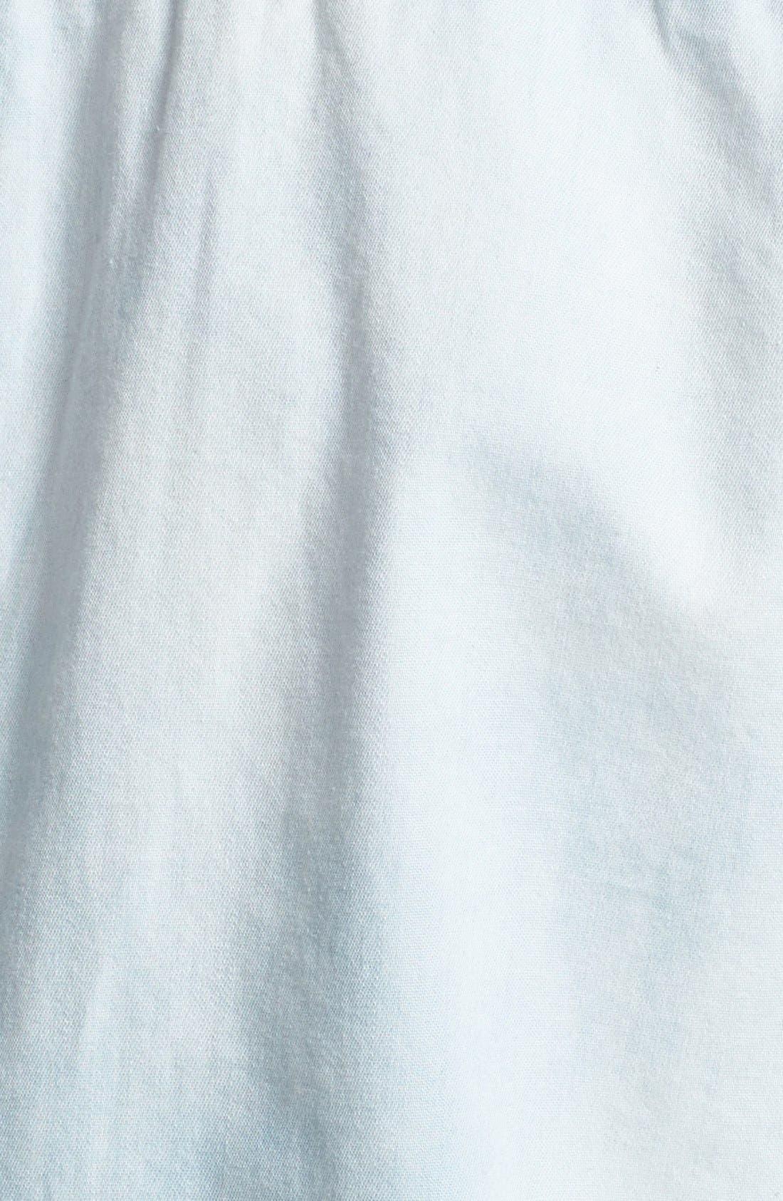Alternate Image 3  - MICHAEL Michael Kors Military Denim Shirt