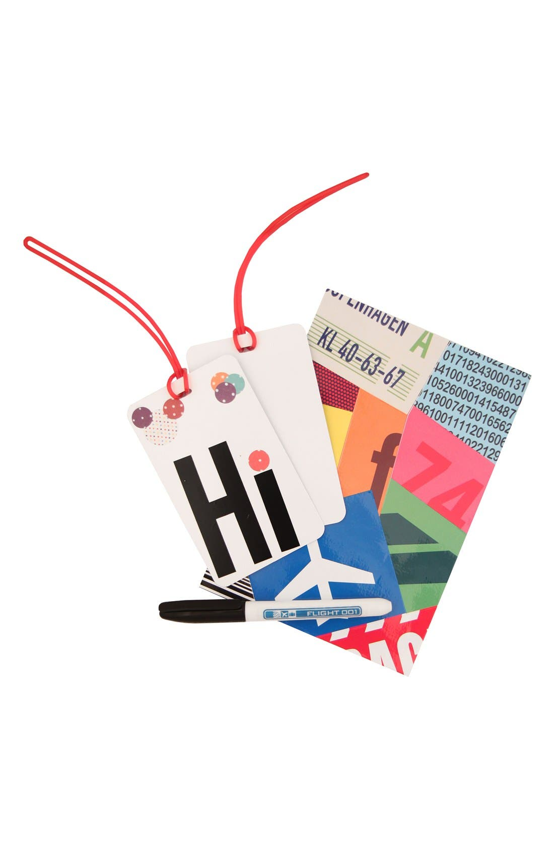 Alternate Image 2  - Flight 001 'Tag Your Tag' Luggage Tags (Set of 2)