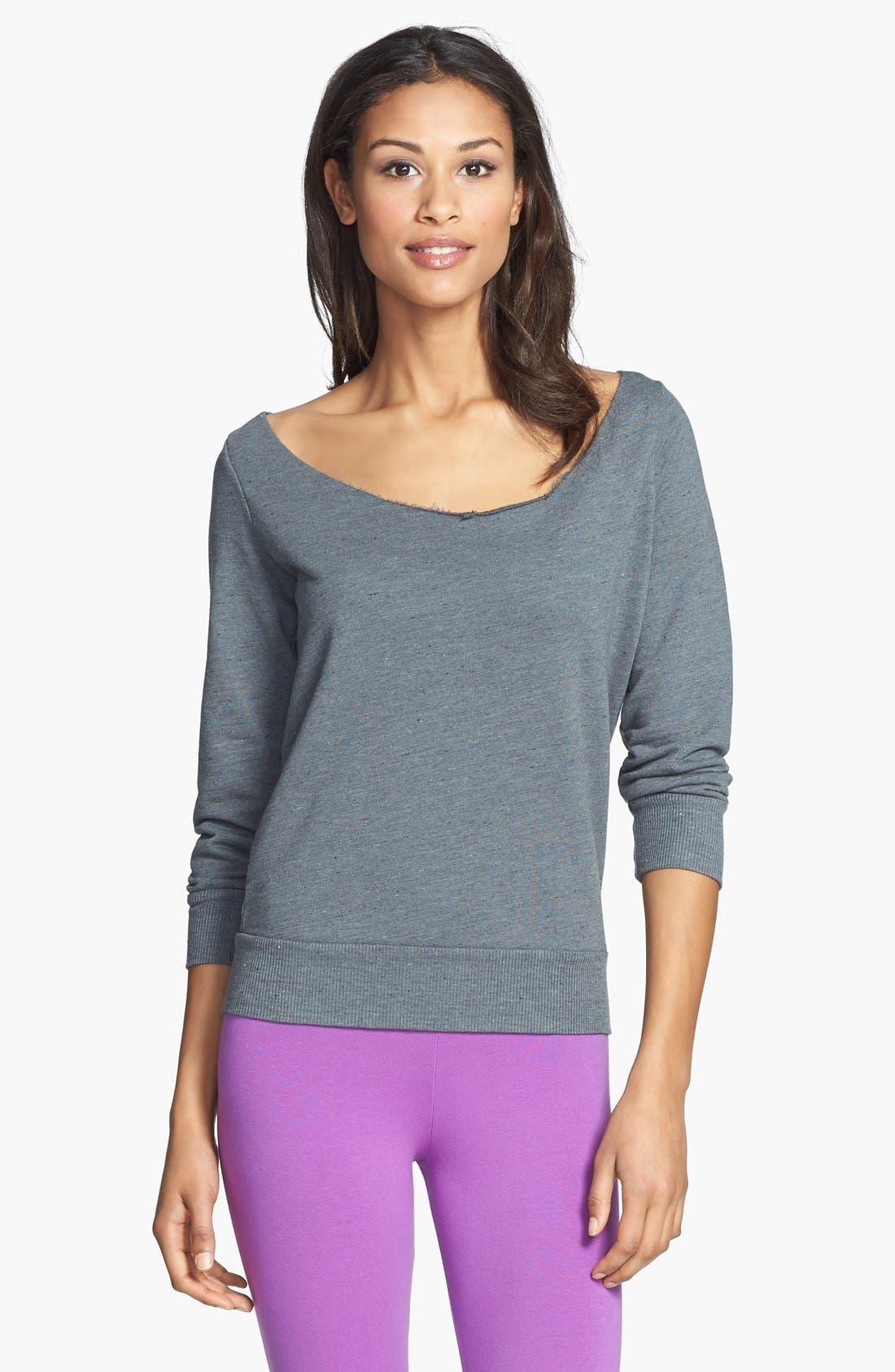 Alternate Image 2  - Solow Twist Back Sweatshirt