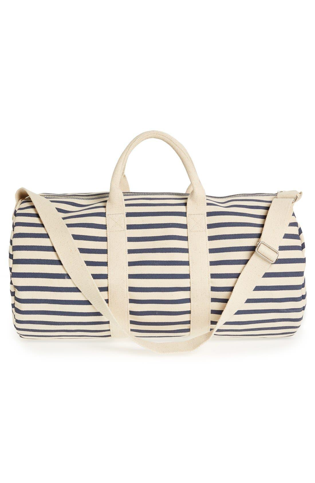 Alternate Image 4  - Baggu® Canvas Duffel Bag (22 Inch)