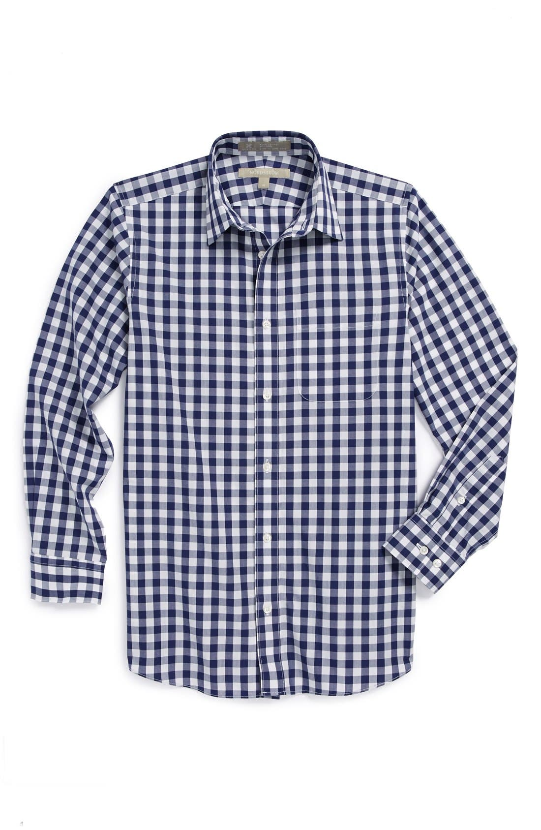 Alternate Image 1 Selected - Nordstrom Smartcare™ Dress Shirt (Big Boys)