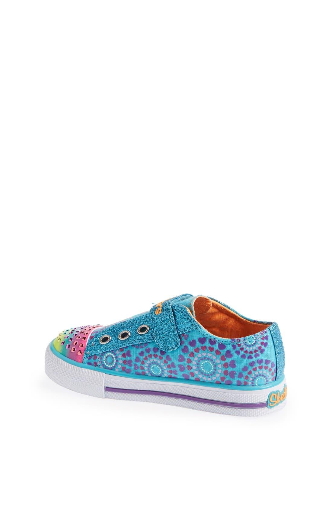 Alternate Image 2  - SKECHERS 'Shuffles - Love Burst' Sneaker (Toddler)