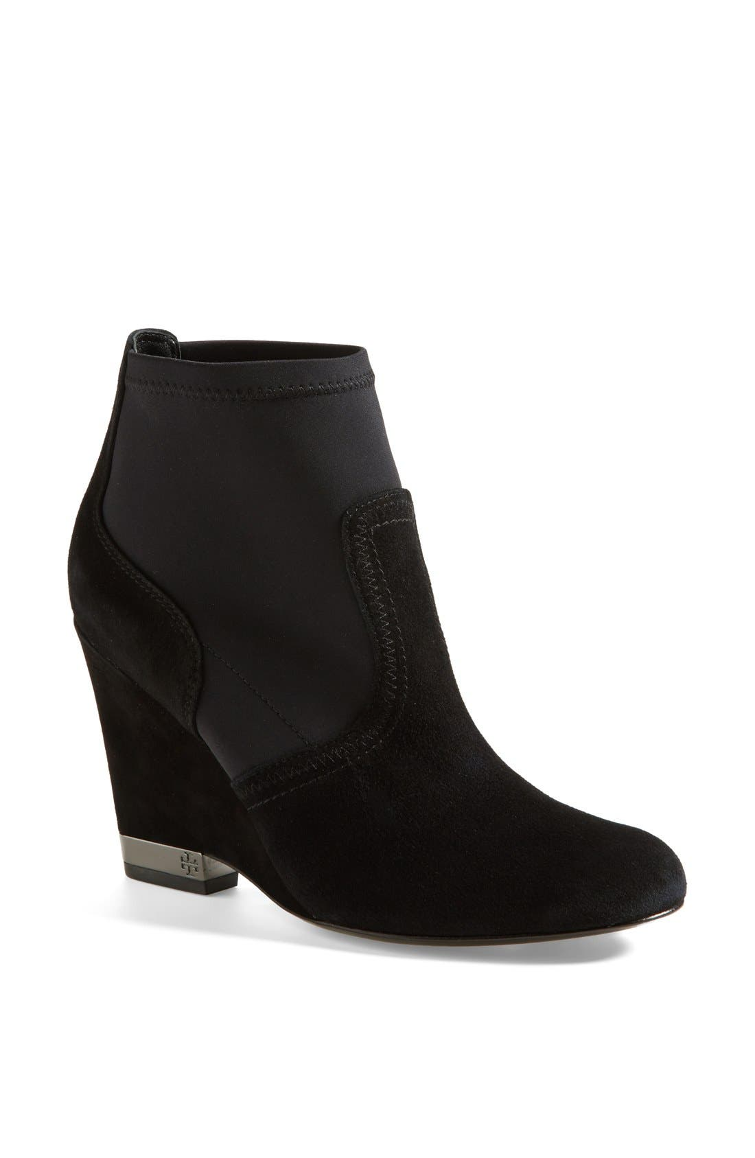 Alternate Image 1 Selected - Tory Burch 'Brenda' Demi Wedge Boot