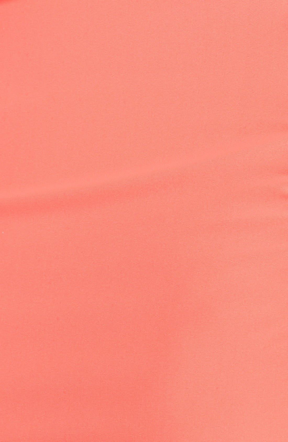 Alternate Image 3  - Jessica Simpson Ruffle Swimdress (Plus Size)
