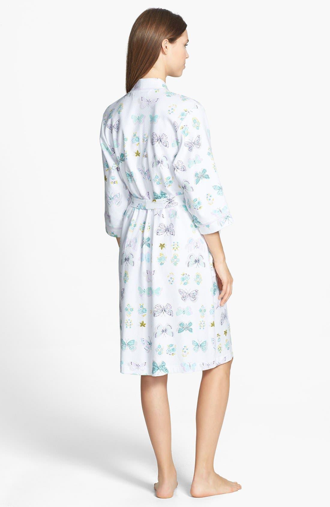 Alternate Image 2  - Carole Hochman Designs 'Butterfly Soiree' Robe