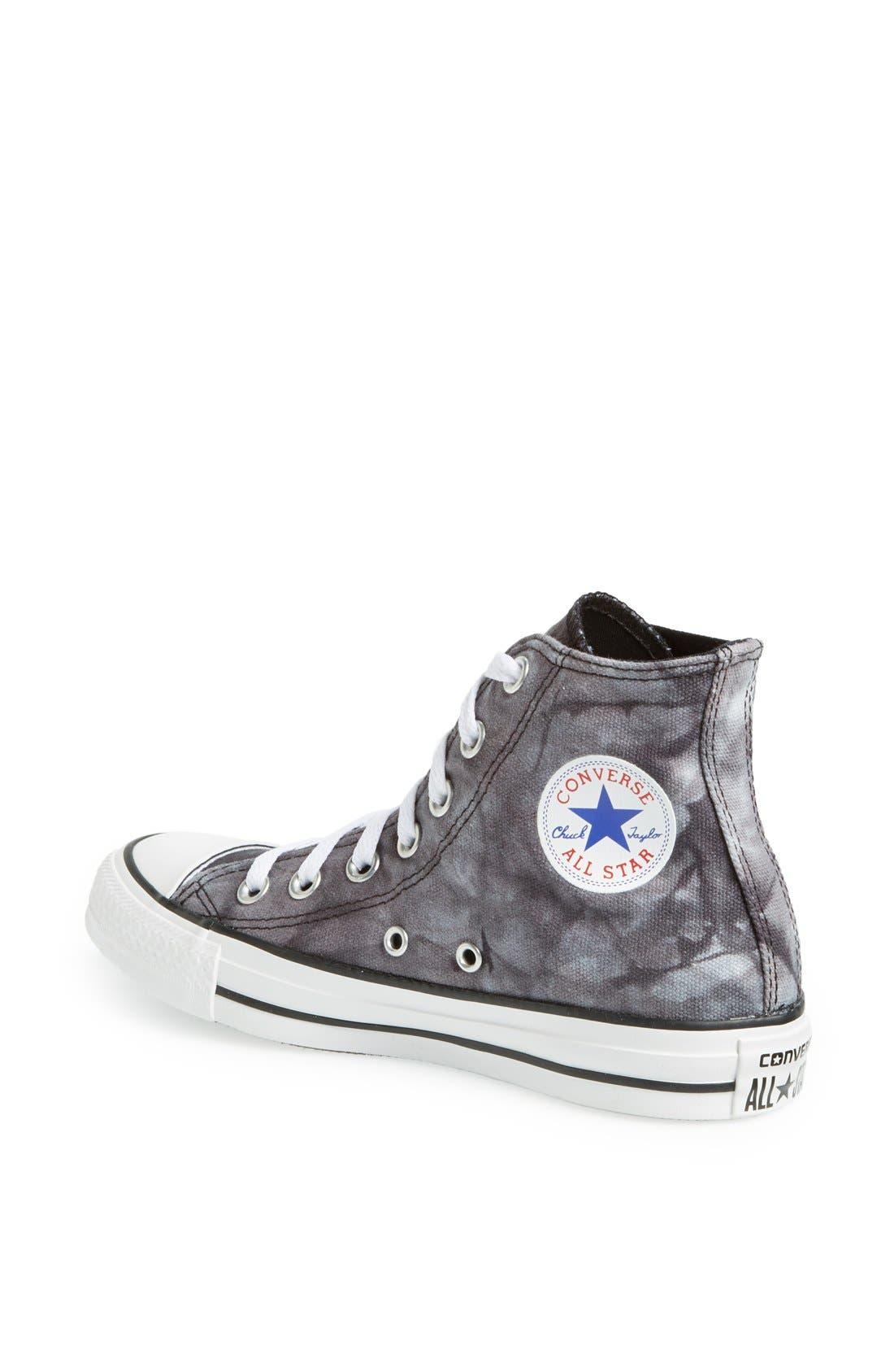 Alternate Image 2  - Converse Chuck Taylor® All Star® 'Tie Dye' High Top Sneaker (Women)