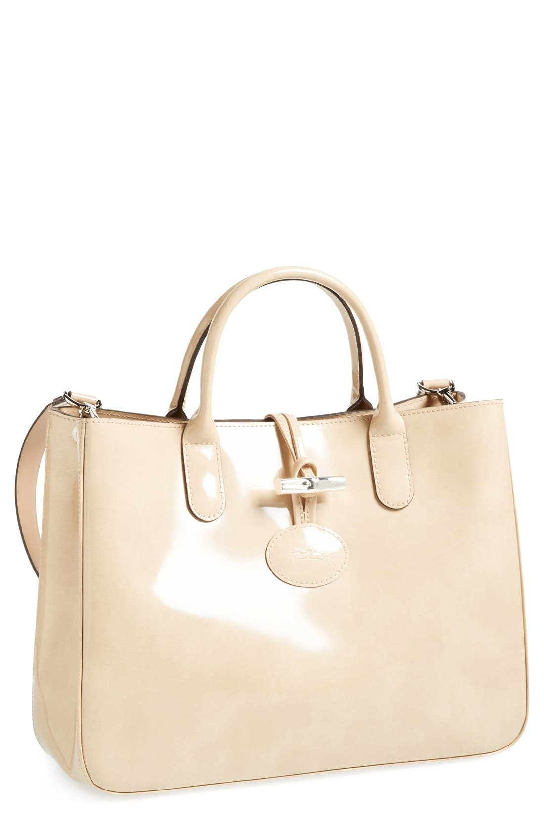 Main Image - Longchamp 'Medium Roseau Box' Tote
