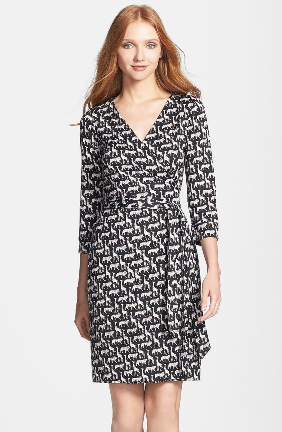 Alternate Image 3  - Diane von Furstenberg 'New Julian 2' Silk Wrap Dress