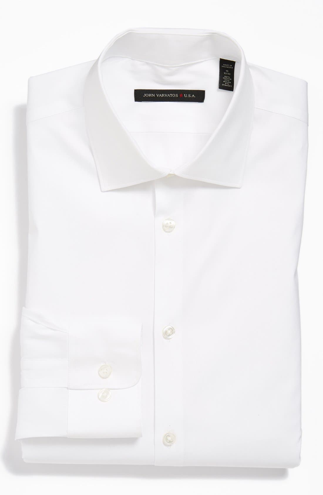 Main Image - John Varvatos Star USA Slim Fit Dress Shirt