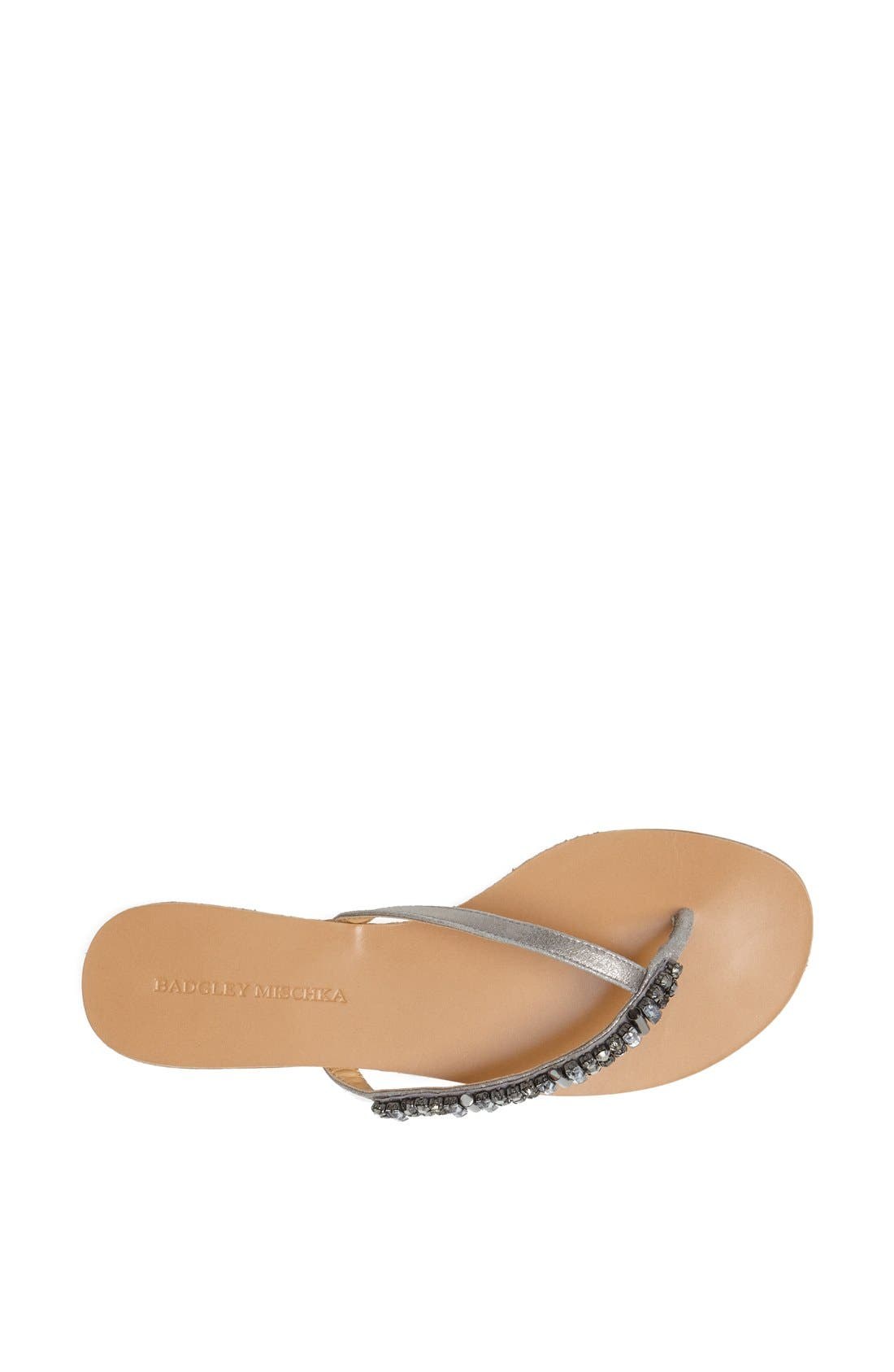 Alternate Image 3  - Badgley Mischka 'Kamryn' Thong Sandal